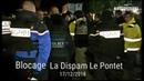 Les gilets jaunes Vauclusiens bloque la Dispam au Pontet - 17/12/2018
