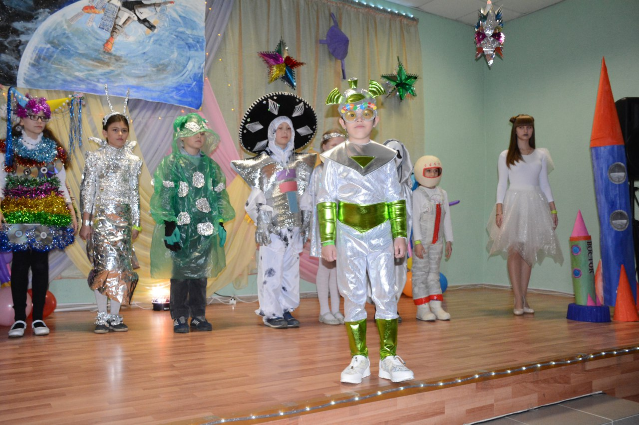 В школе №3 г.Балабаново провели Космофест