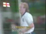 ЧМ-1990. Марк Райт (Англия) - мяч в ворота Египта