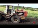 82-Д.Первая поломка.Культивация паров тракторами Т-150К с КПС-8