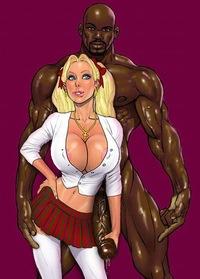 White girls who love big black dicks