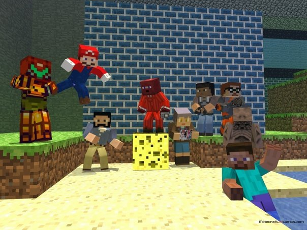 Майнкрафт группа пиара 1 5 2 updated the community