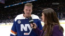 Crowd Goes Nuts for Robin Lehner After Shutout New York Islanders Post Game