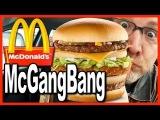 McDonald's ★ Secret Menu Item ★ McGangBang Sandwich Food Review