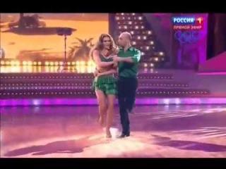 Танцы со звездами 2013. Алена Водонаева и Евгений Папунаишвили. САМБА 09.11.2013
