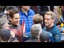 Avenger 4 Video Goes on set with Robert Downey Jr Chris Evans