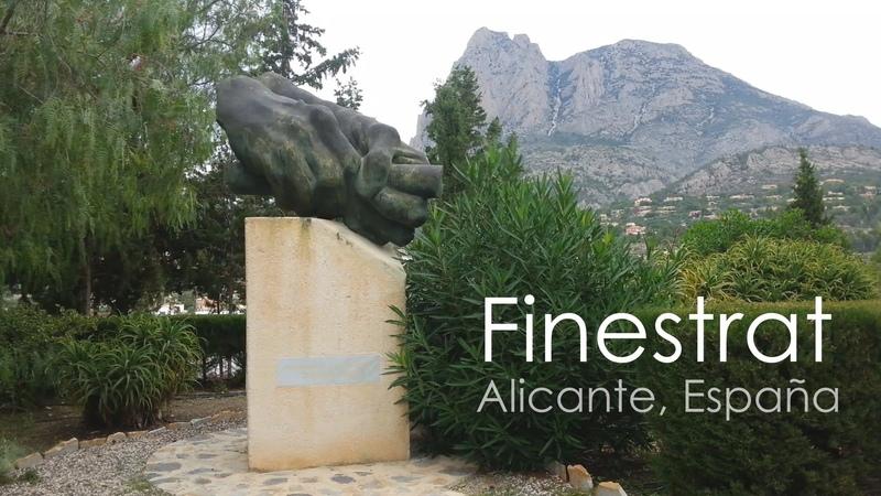 ФИНЕСТРАТ, Аликанте, Испания / FINESTRAT. Alicante, España