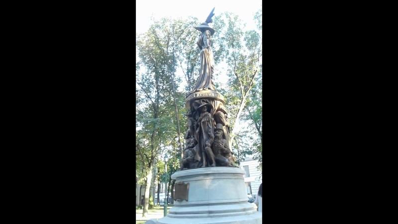 памятник Людмиле Гурченко в г.Харьков 2018 год