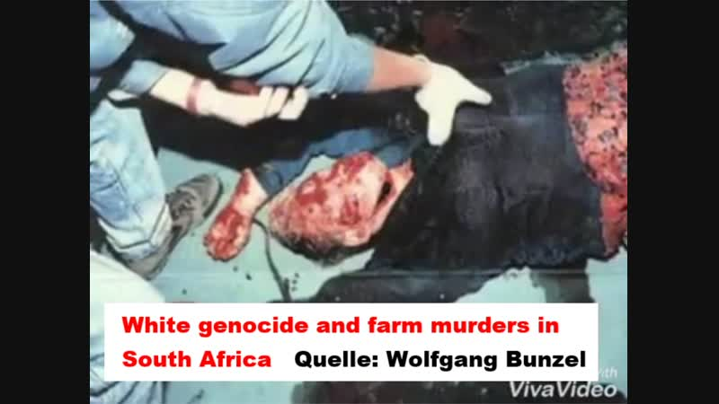 White genocide and farm murders in South Africa Quelle: Wolfgang Bunzel