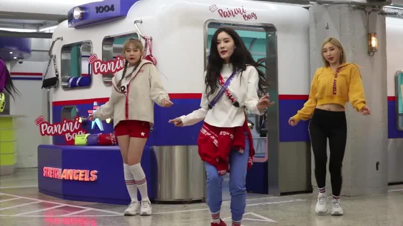 190115 Hyomin 효민 T-ARA - 으음으음(U Um U Um) - Dance ver fancam