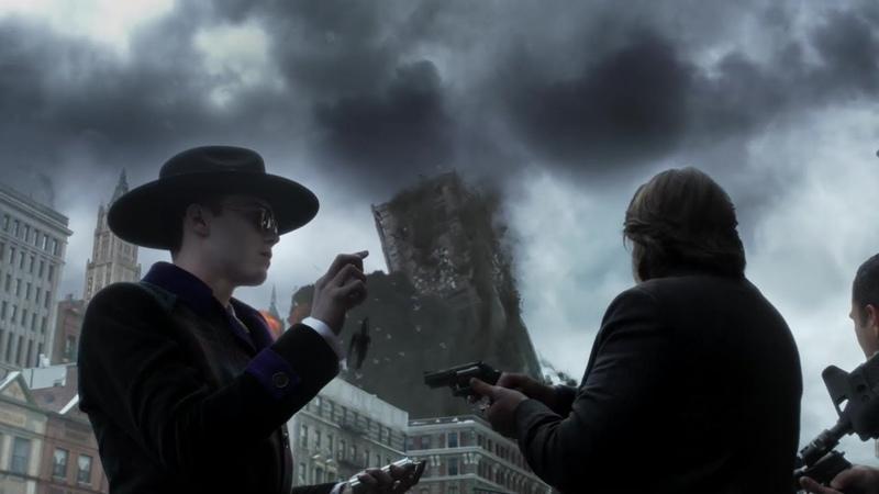 Джеремайя Валеска взрывает здание | Готэм.