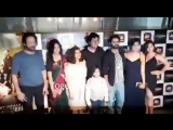 TheGreatIndianDysfunctionalFamily cast at the special screening of TGIDF.
