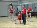University of Dayton's Kelly Sheffield Volleyball Defensive Fundamentals Breakdown