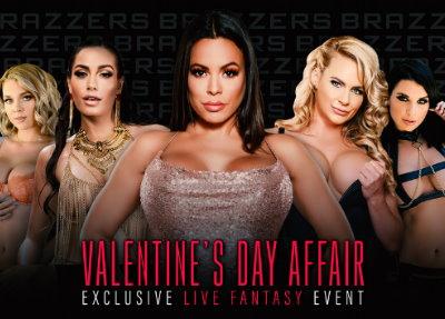 Porno Brazzers Brazzers LIVE: Valentine's Day Affair
