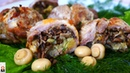 Фаршированное Мясо в Кружке Основное Блюдо Праздничного Стола