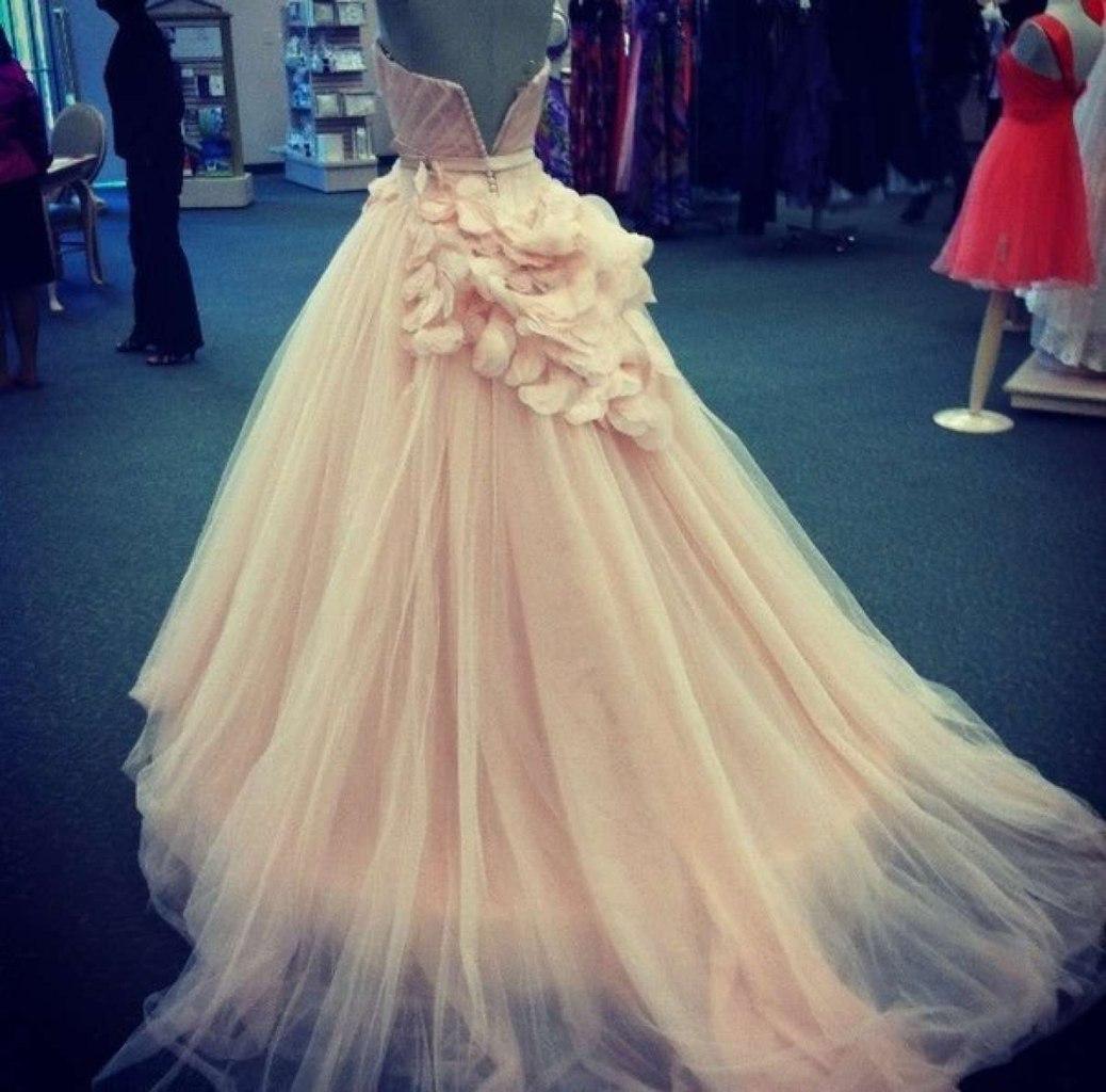 Свадебное платье с влагалищем 2 фотография