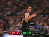 NBA on ESPN on Instagram Brook Lopez splashed a deep three RIGHT in his brothers face