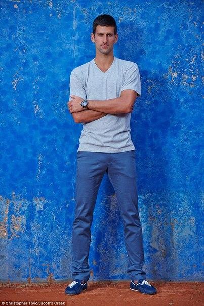 Новак Джокович на открытом чемпионате Австралии 2015