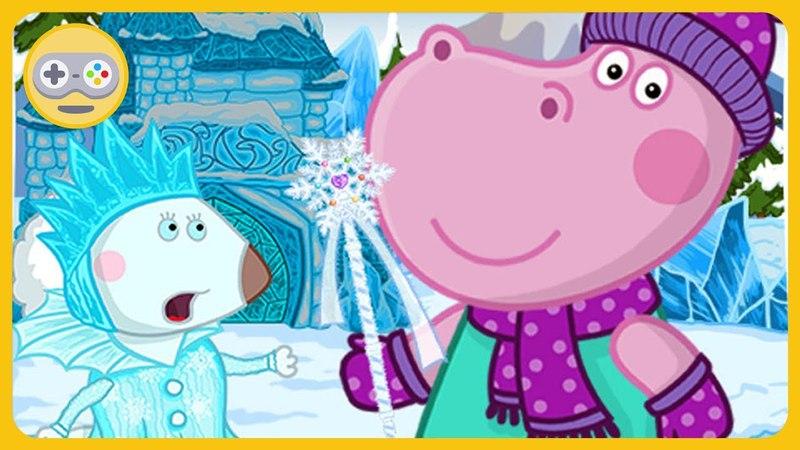 Сказки Гиппо - Снежная королева * Гиппи спасает Джи и друзей из ледяного плена. Игры с Kids PlayBox