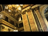 Looking Inside Saint Isaac's Cathedral in St. Petersburg, Russia