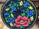 Stencil Opa Prato Floral Eleonora Costa
