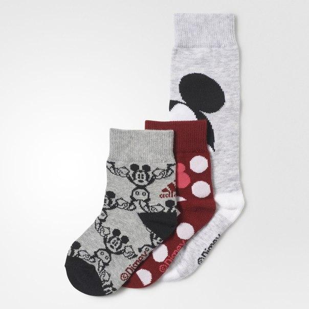 Три пары носков Mickey Mouse