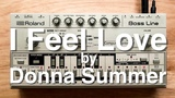 The Bass Line Of I Feel Love On A TB-303