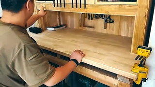 Making Work Table & Tool Storage Cabinet. 2 in 1 making work table & tool storage cabinet. 2 in 1