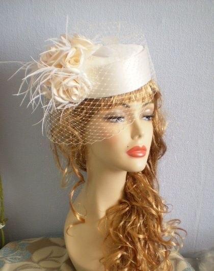 Шляпка с вуалью для куклы своими руками мастер класс