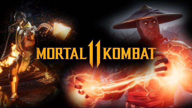 Mortal Kombat 11 Игрофильм На РУССКОМ