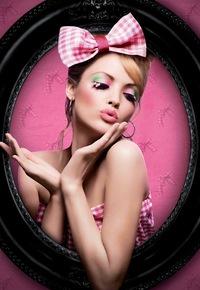 Арт перманентный макияж век