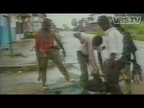 I will eat you Raw - 'It's World War III' in Liberia