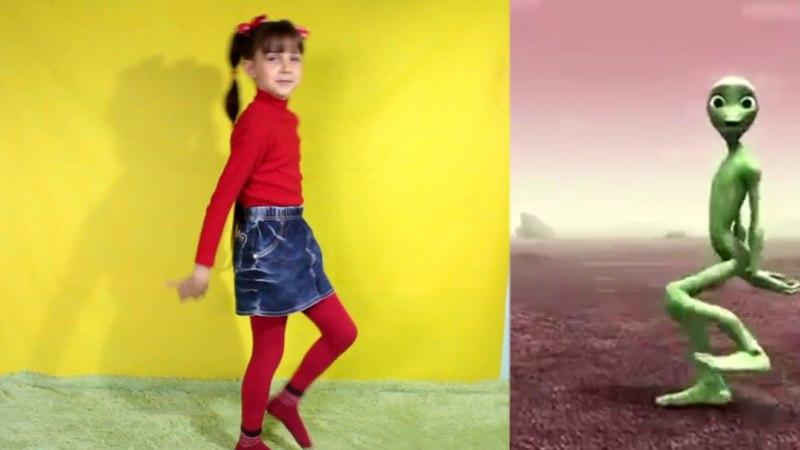 Dame Tu Cosita Dance Challenge Танцевальный ЧЕЛЛЕНДЖ даме ту касита Лиза и Карамелька LizaTube