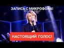 Голос с микрофона Олега Винника - Вовчиця Голый голос