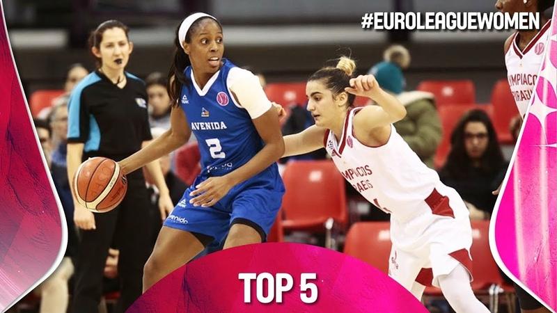Top 5 Plays - Gameday 7 - EuroLeague Women 2018-19