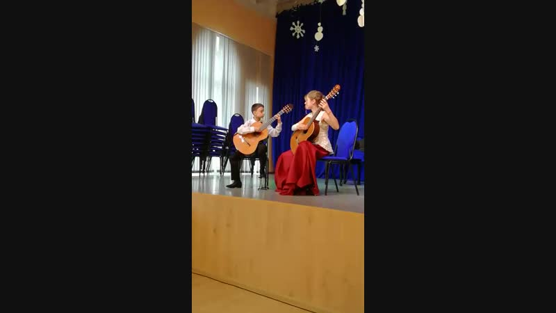 Юные таланты Московии 19 01 19