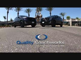 Cadillac Escalade CEO ESV 2018  5 Raised Roof by Quality Coachworks
