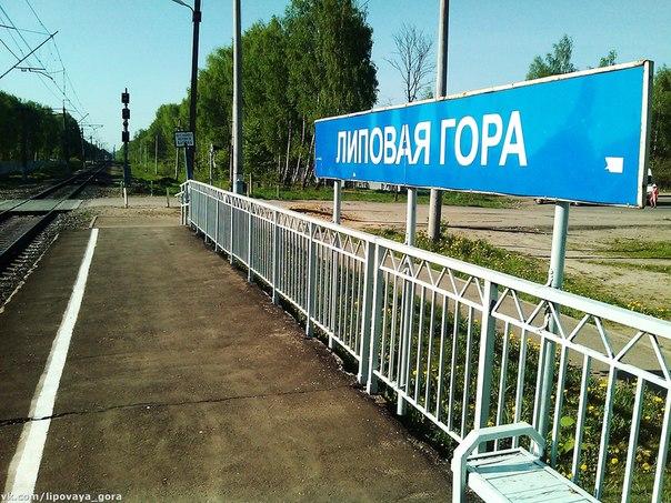 """Станция """"Липовая гора"""" - май 2014"""