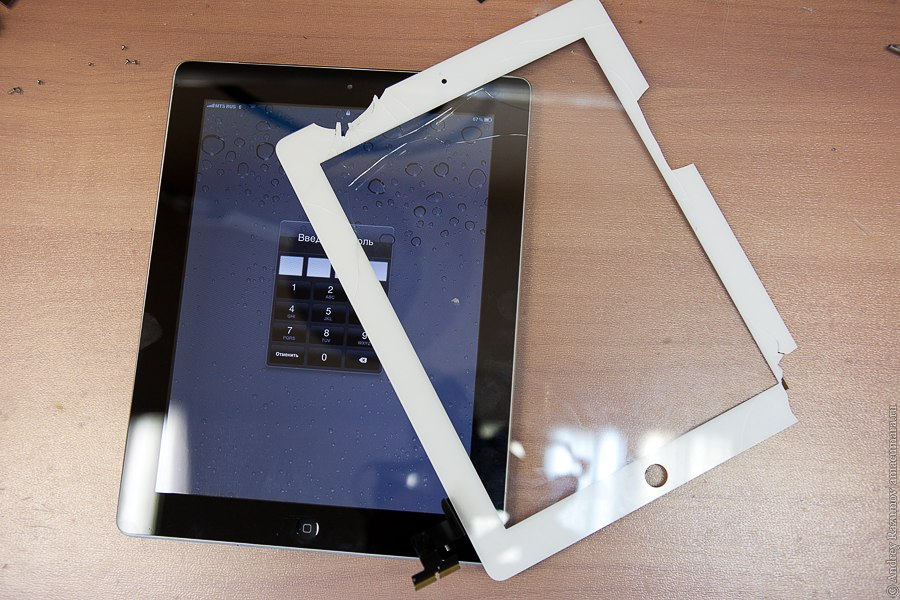 ремонт Apple ipad 2 new