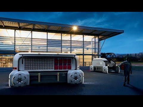 EZ-PRO: Urban delivery goes robo | Renault