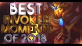 BEST Invoker of 2018 - Miracle-, Abed, Topson &amp more - EPIC Plays, CRAZY Combos - Dota 2