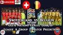 Switzerland vs Belgium | UEFA Nations League | League A Group 2 Predictions FIFA 19