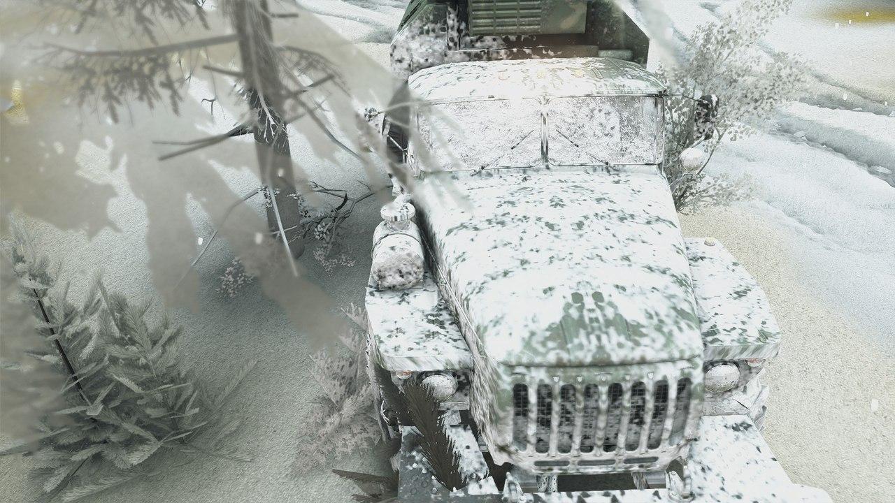 Карта Зимний сезон + Падающий снег SPIN TIRES Cv9ILdijyeY