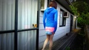 Crossdressing Casual walking outfit with Mini Skirt
