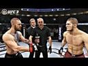 UFC3 начало карьеры 1