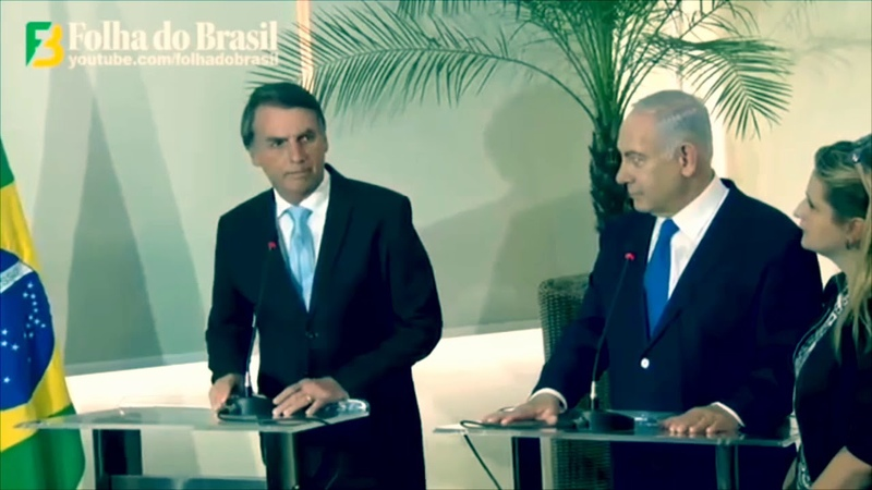 Presidente eleito no Brasil e primeiro ministro de Israel falam sobre nova relação entre os países.
