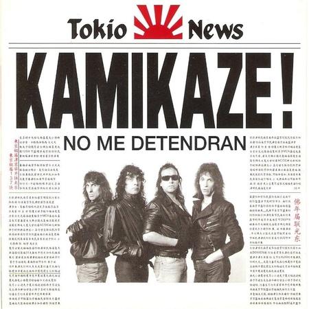 Kamikaze - No Me Detendrán (1988) [Disco CompletoBonusTrack]