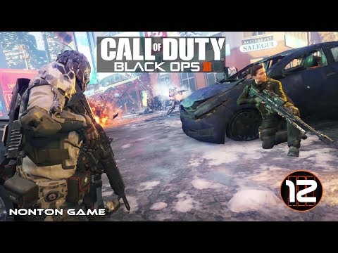 Nonton Game Perang Seru Abis!. CALL OF DUTY BLACK OPS III Gameplay PC. PART 12