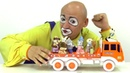 Vídeo de juguetes infantiles El camión con pequeños animales Juegos divertidos para niños