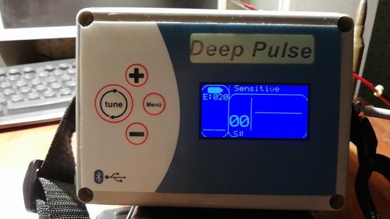 Обзор глубинного металлоискателя Deep Pulse